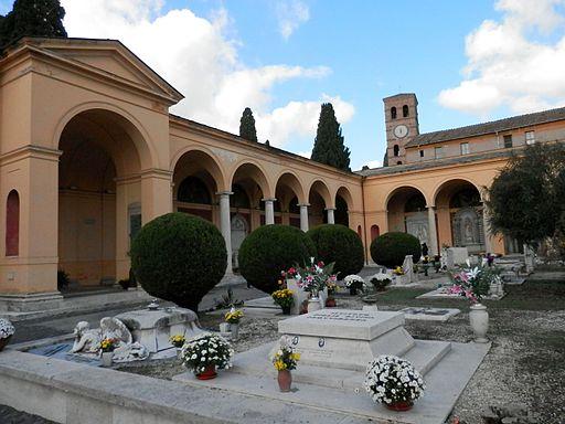 Cimitero del Verano a Roma By Fczarnowski (Own work) [CC BY-SA 3.0 ], via Wikimedia Commons