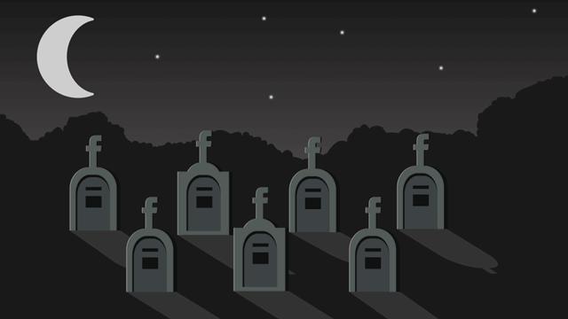Facebook cimitero virtuale