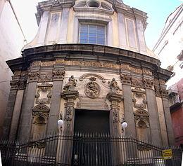 Chiesa di Santa Maria delle Anime del Purgatorio ad Arco - Facciata