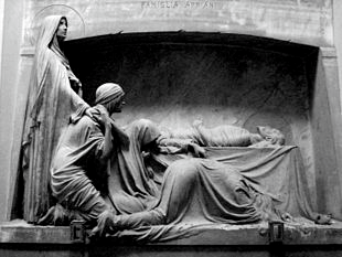 La tomba della famiglia Appiani