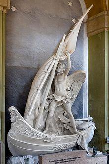 Tomba Carpaneto, realizzata da Giovanni Scanzi nel 1886, restaurata nel 2016
