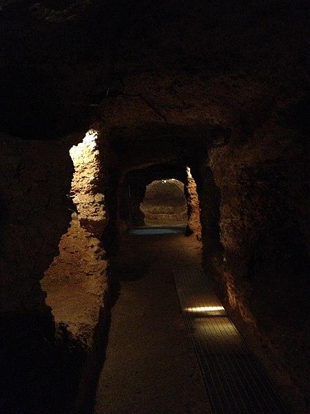 Le catacombe di Porta d'Ossuna sono un cimitero ipogeo paleocristiano di Palermo.
