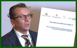Cristian Vergani, presidente Federcofit, interviene sul piano vaccinale COVID