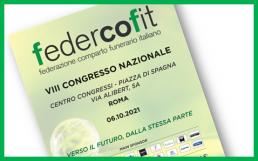 """locandina VIII congresso Federcofit 2021 """"verso il futuro, dalla stessa parte"""""""