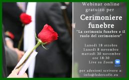 webinar gratuito cerimoniere funebre